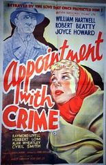 Appointment with Crime 1946 DVD - William Hartnell